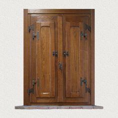 CMB Infissi finstra in legno mod. Casale