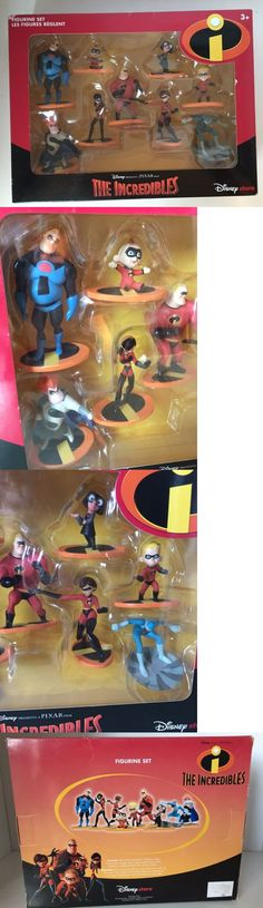 Incredibles 95254: Disney Exclusive The Incredibles Figures Set New Playset Action Figurines -> BUY IT NOW ONLY: $79.99 on eBay!