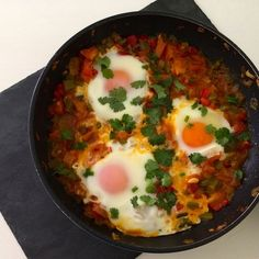 North African Eggs!! We love Gordon Ramsay!!