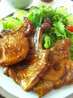 Buta no Shogayaki, ginger pork finished dish #Japanese Recipe