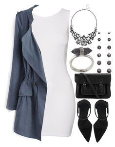 """""""948."""" by adc421 ❤ liked on Polyvore featuring John Zack, The Cambridge Satchel Company, Forever 21 and Karen Kane"""