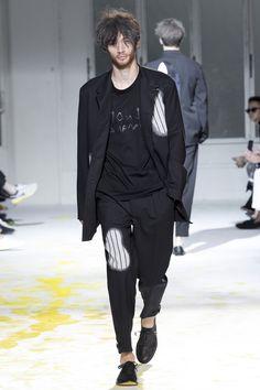 Fashion week de Paris, jour 1&2 Yohji Yamamoto look
