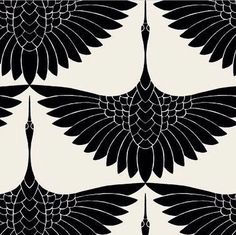 #TrinaTurk #Crane pattern, 2011. By Carrie Hansen?