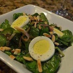 Acid Reflux Diet Cookbook - Wilted Spinach and Almond Salad - http://bestrecipesmagazine.com/acid-reflux-diet-cookbook-wilted-spinach-and-almond-salad/