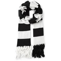 GOLDEN GOOSE DELUXE BRAND striped fringed scarf and other apparel, accessories and trends. Browse and shop related looks.
