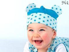 Schnittmuster Baby Mütze Beanie Orso Ebook von pattern4kids - Schnittmuster für Baby- und Kinderkleider als ebook download oder Papierschnitt mit Nähanleitung auf DaWanda.com