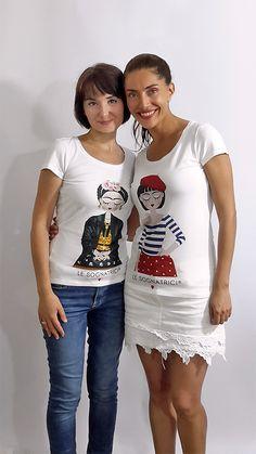 Caterina Murino indossa Le Sognatrici - Monique - Sardegna - Sardinia - Paola Cassano indossa Le Sognatrici Frida Khalo