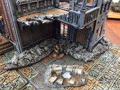 Rubblepiles, Warhammer 40k, cities of Death scenery