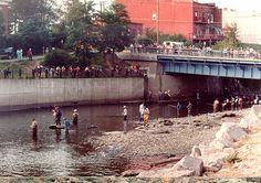 Salmon Fishing Pulaski NY   Salmon River Fishing - Pulaski New York.  We used to visit my grandmother and cousins in Pulaski.  Wonderful childhood memories!