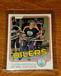 In the late 1970s and early 80s as a small boy I went to our local store and spent all my allowance on hockey cards. I loved opening up the individual...