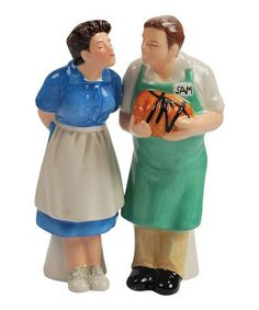 Take a look at this Alice & Sam Salt & Pepper Shakers by Westland Giftware Zulily