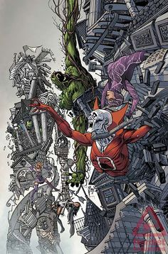 Justice League Dark Annual #2 cover by Guillem March