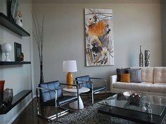Inspiration Wohnzimmer Ideen Dunkler Boden