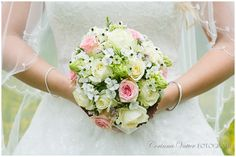 Brautstrauss weiss rose Sommer | Wedding Bouquet White Rose Summer | Corinna Vatter Fotografie