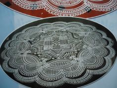 .. Beautiful Rangoli Designs, Kolam Designs, Padi Kolam, Decorative Plates, Mandala, Tableware, Creative, Big, Free