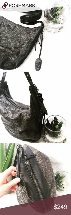 """$795 RAG & BONE BRADBURY ZIP HOBO Absolutely stunning!! Only carried a couple of times, no damage or wear to leather or hard wear. Inside very clean, just a few little spots. Made in Italy, Adjustable shoulder strap 17""""-20"""" drop, top zip closure, one inside zip pocket, 15"""" W, 12"""" H , 5"""" D Accepting offers! rag & bone Bags Hobos"""