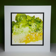 Janey's Cards: Stamping With Masking Fluid...