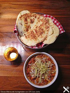 Indisches Naan Brot