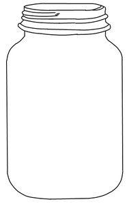 mason jar coloring page mason jars free desktop wallpaper clipart best clipart