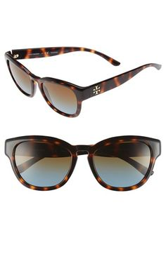 acb14d7f342 Tory Burch 53mm Retro Sunglasses Retro Sunglasses