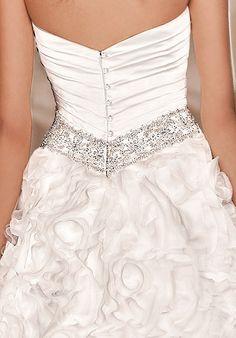 Love the shape and the sparkle around the waist