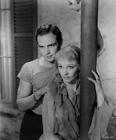 Marlon Brando and Vivien Leigh in A Streetcar Named Desire (1951)