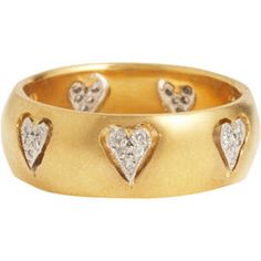 Cathy Waterman Floating Hearts Ring.  ...//md