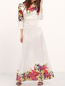 not sure i could hate this dress more but i love the hem with the flowers.