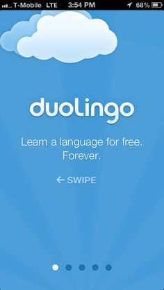 DuoLingo intro, 1 of 5