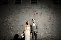 Disused industrial wedding