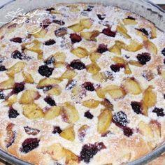 Švestkový koláč s drobenkou: recept | Kreativní Techniky Krabi, Cereal, Good Food, Food And Drink, Cookies, Baking, Breakfast, Desserts, Recipes