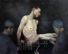 "Saatchi Art Artist Caitlin Karolczak; Painting, ""Res Ipsa Loquitur (the thing speaks for itself)"" #art"