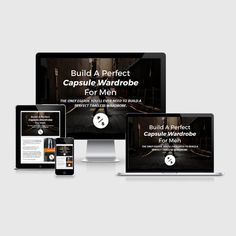 Buy Capsule Wardrobe For Men eBook online - Step by step build a perfect capsule wardrobe. Essential wardrobe for men.