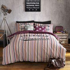 Boston Bedding by American Freshman at Dotmaison