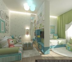 Kids Bedroom Designs, Room Design Bedroom, Home Room Design, Kids Room Design, Bedroom Decor, Boy And Girl Shared Room, Shared Rooms, Small Lounge Rooms, Sibling Room