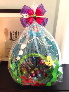 Little mermaid string easter basket i made for my daughter little mermaid string easter basket i made for my daughter negle Image collections