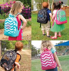 Super Cute Toddler Preschool Backpack Daycare Bag by SugarThreadz ...