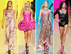 betsey johnson dresses 2012 | ... , And Candy-Colored Mini Ballgowns At Betsey Johnson Spring 2012