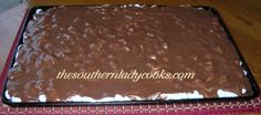 Mississippi Mud Cake 1 cup butter or margarine, or 2 sticks or 16 tablespoons, melted  1/2 cup cocoa (I use 100% pure cocoa)  2 cups sugar  4 eggs, beaten  1 1/2 cups all-purpose flour  Dash salt  1 teaspoon vanilla extract  1 1/2 cups nuts