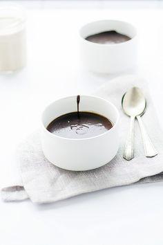 irish cream panna cotta with irish cream chocolate ganache