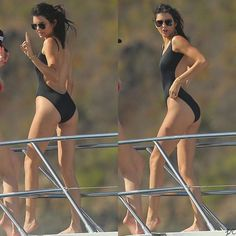 Throwback to Kendall in St. Barth's last year! 😍