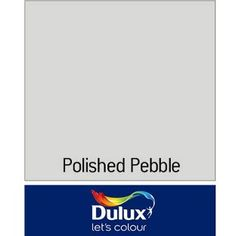 Dulux Matt Emulsion Tester Paint - Polished Pebble - 50ml from Homebase.co.uk Dulux Polished Pebble, Comic Book Rooms, Pebble 2, Oxford, Feel Good, Growing Up, Let It Be, Sunroom