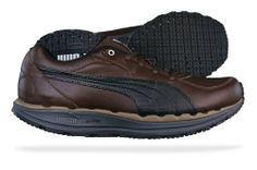 Puma BodyTrain Mens Leather sneakers   Shoes - Brown Leather Sneakers 35502c6c6