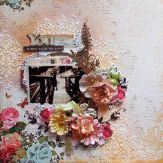 DT Layout For C'est Magnifique August Kit & Sketch - Scrapbook.com