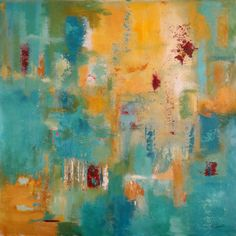 """Love this color combination. """"All In Good Time"""" by Ruth Palmer."""