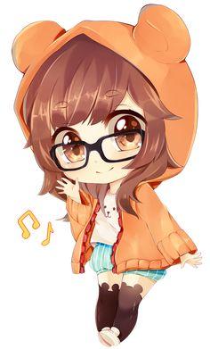 Bonequinha com Óculos