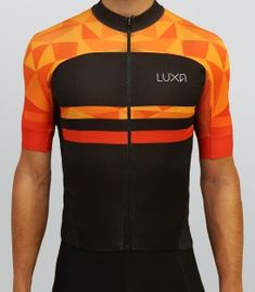 Short sleeve cycling jersey from our Warm Orange collection. Features intense orange and deep black colors. Bike Wear, Cycling Wear, Cycling Bikes, Cycling Outfit, Cycling Equipment, Cycling Clothing, Street Dance, Triathlon, Bike Kit