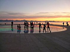 Greetings of the Sun in Zadar, Croatia