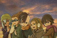 Sakuma,Kidou,Fudou, Demonio and Fidio