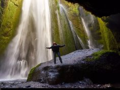 Glyufrafoss Waterfall